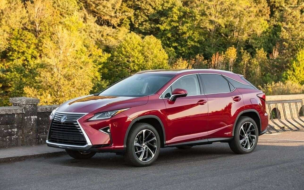 19 New Lexus 2019 Colors Spy Shoot