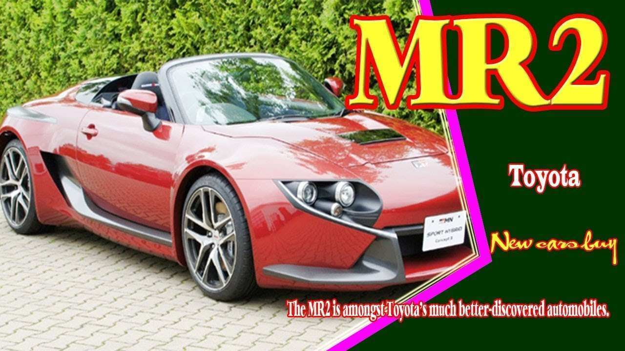 19 New Toyota Mr2 Spyder 2020 Price Design And Review