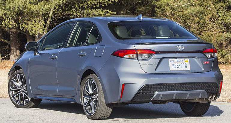 19 The Best 2020 Toyota Corolla Review