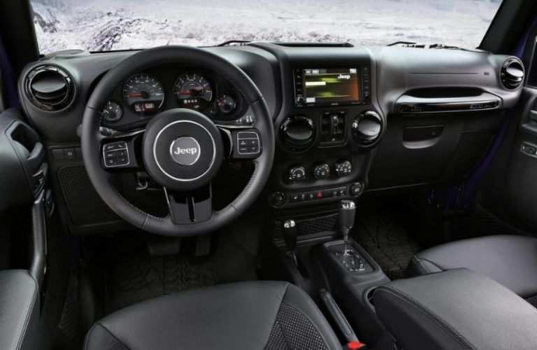19 The Jeep Truck 2020 Interior Overview