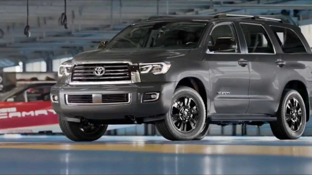 20 A 2019 Toyota Sequoia Engine
