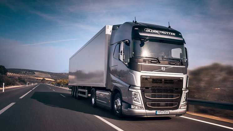20 A Volvo 2019 Truck Exterior