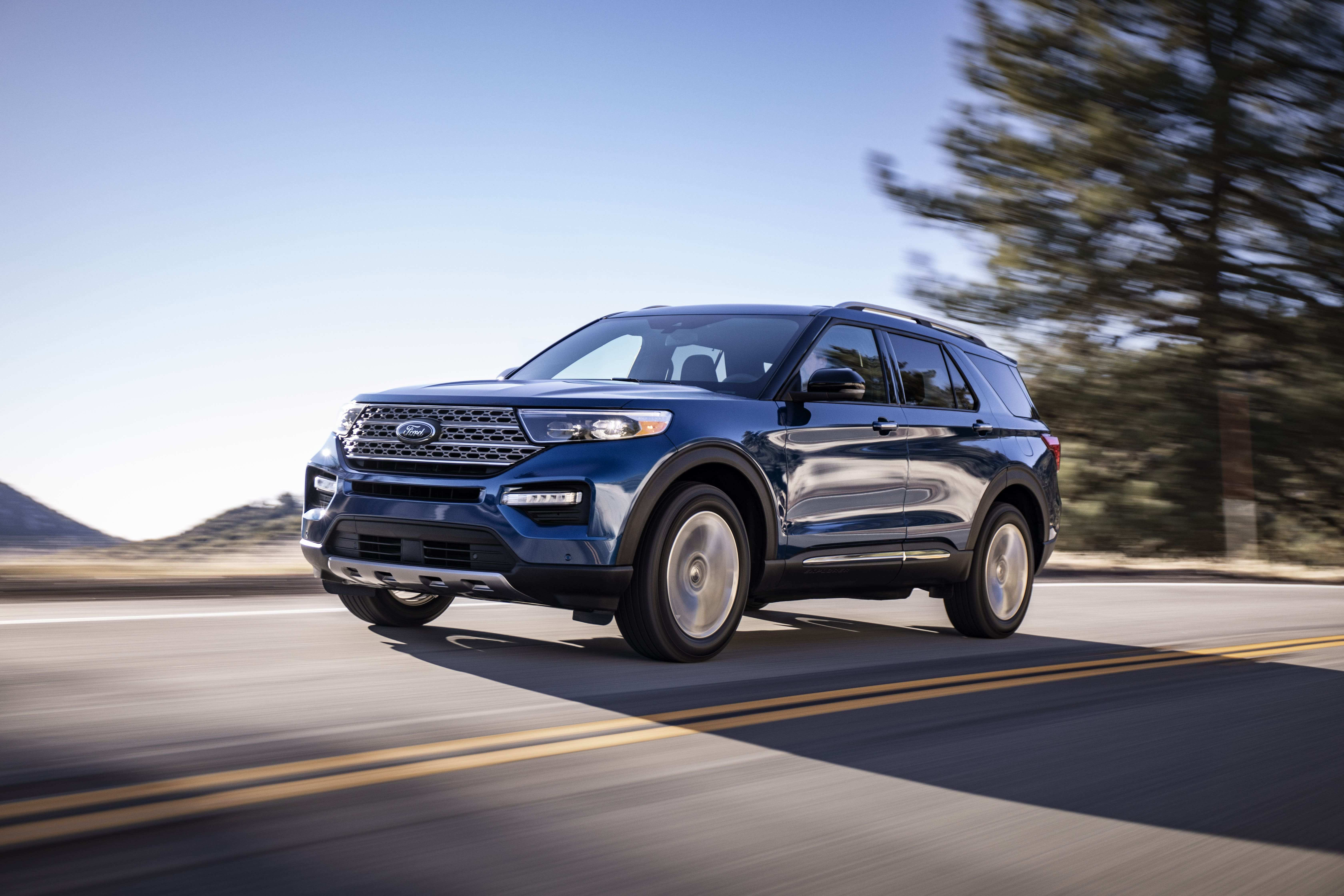 20 All New 2020 Ford Explorer Sports Release