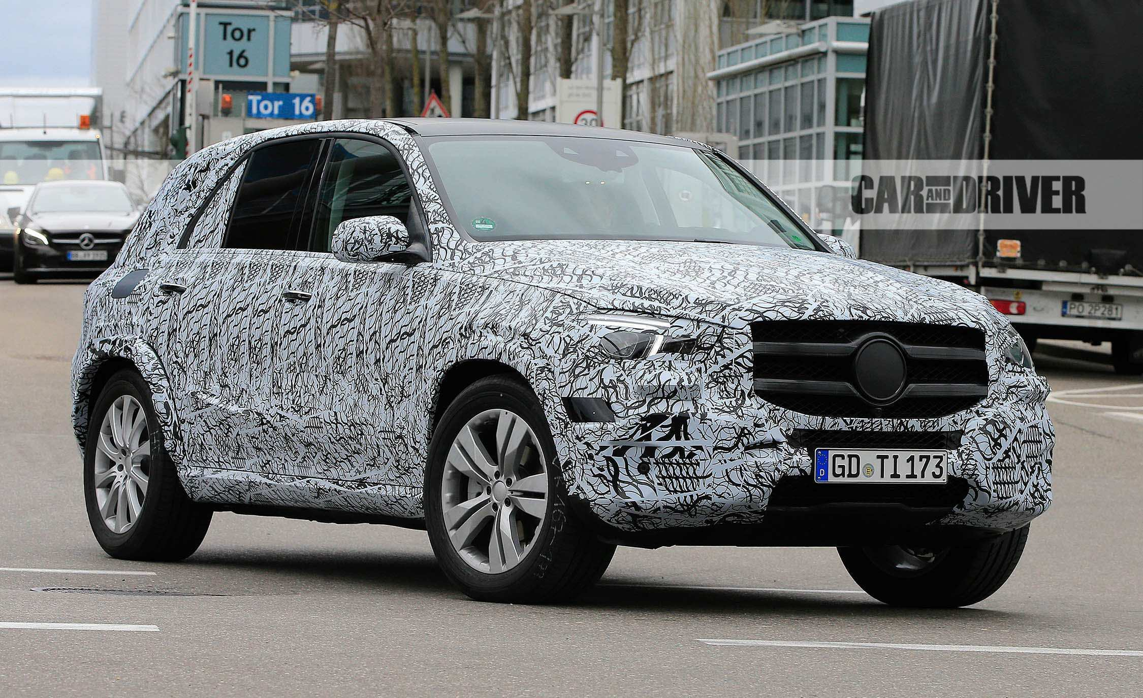 20 All New 2020 Mercedes ML Class 400 Images