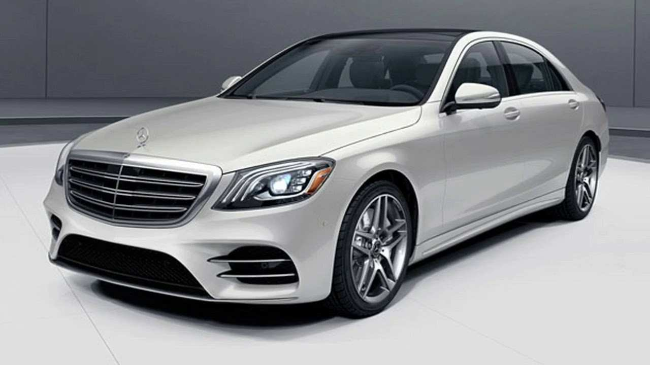 20 All New S450 Mercedes 2019 Concept And Review