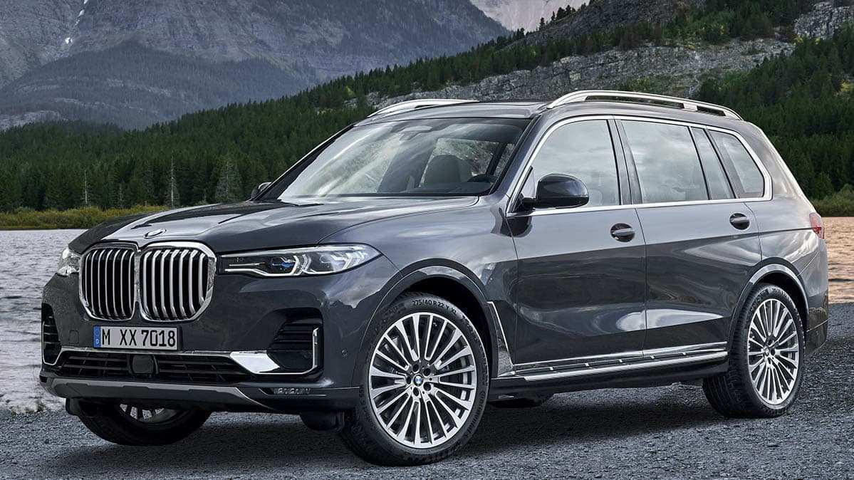 20 New 2019 BMW X7 Suv Series Wallpaper