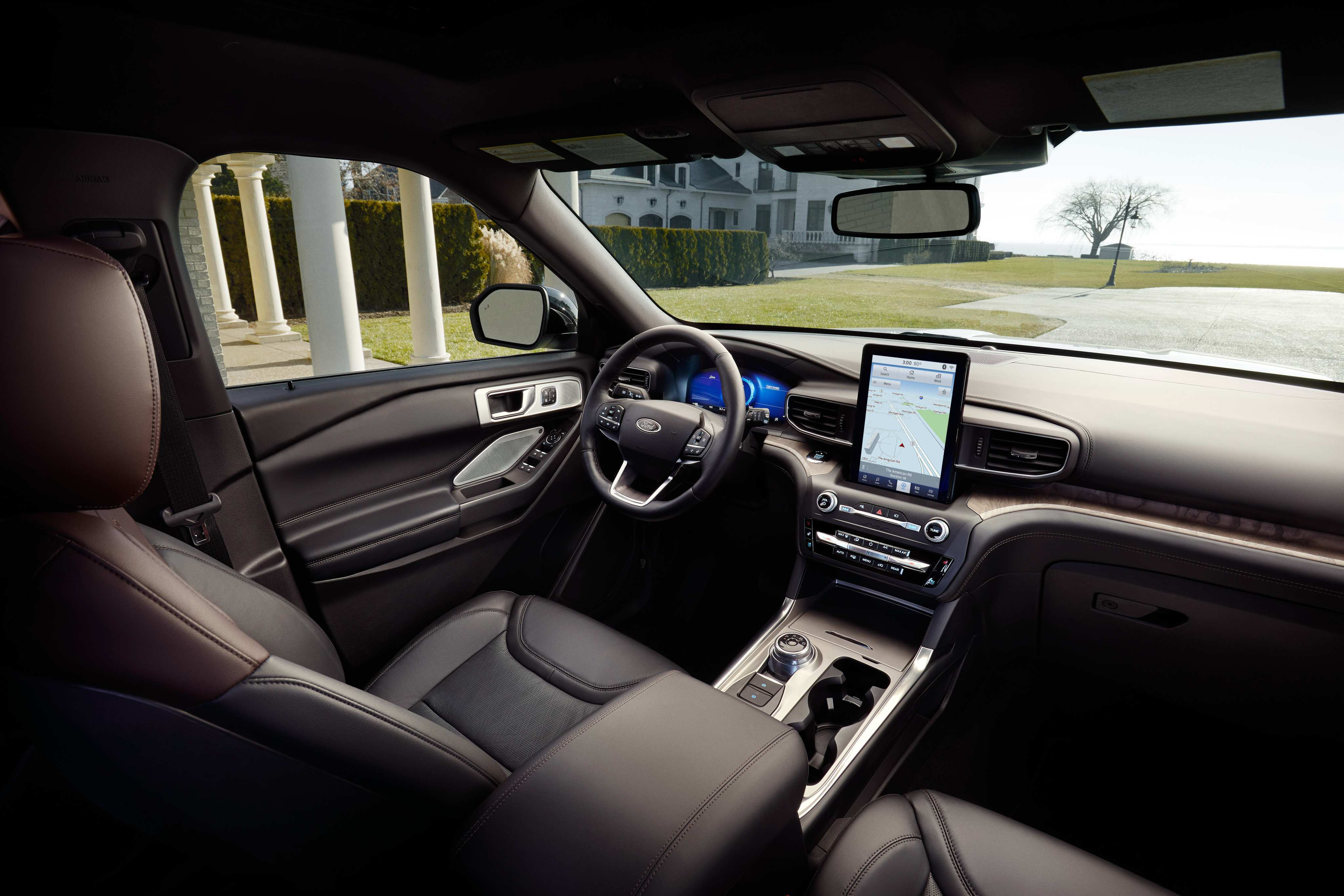 20 New Ford Explorer 2020 Interior Picture