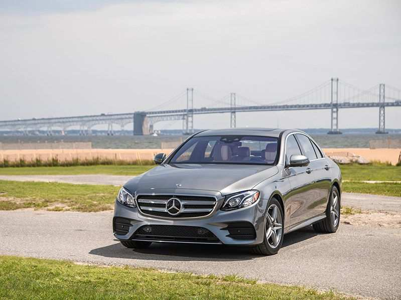 20 New Mercedes 2019 E450 Speed Test
