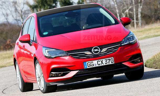 20 New Opel Astra K Facelift 2020 Release