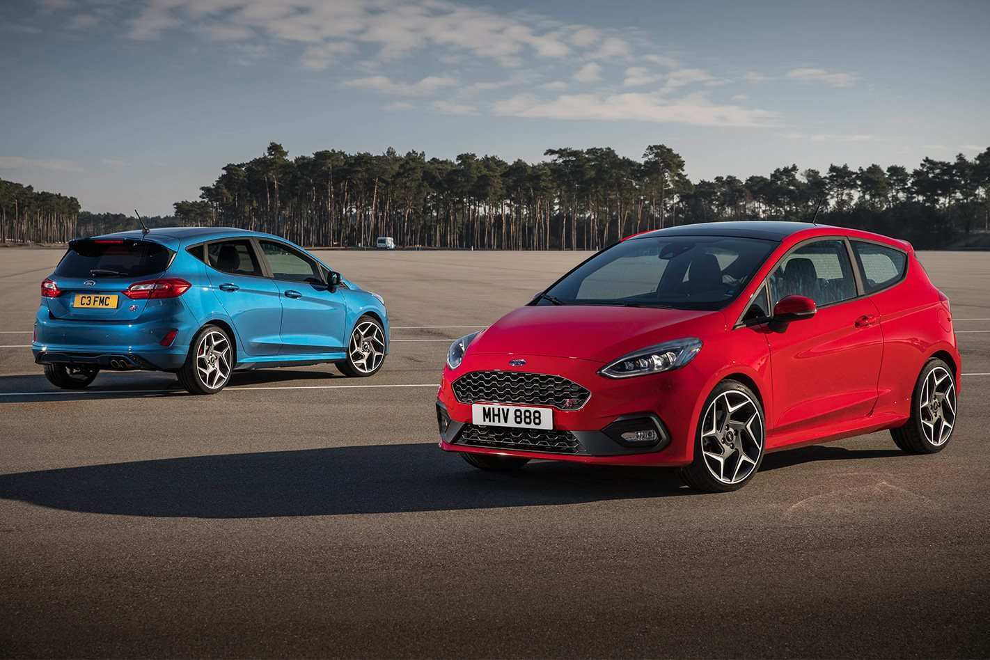 20 The 2019 Ford Fiesta St Rs Spy Shoot