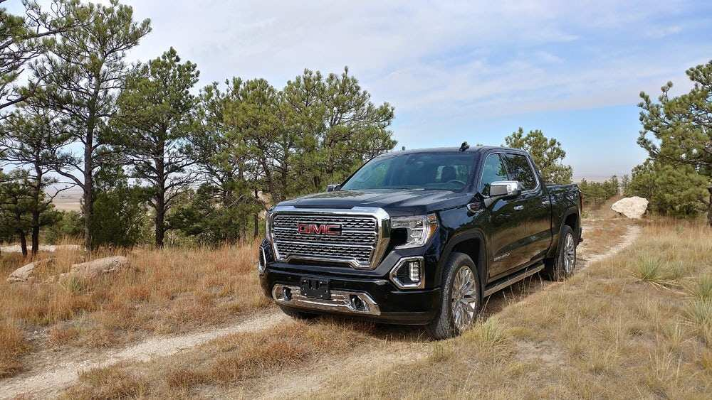 20 The 2019 GMC Sierra 1500 Diesel Wallpaper