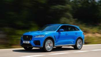 20 The 2019 Jaguar F Pace Svr Images