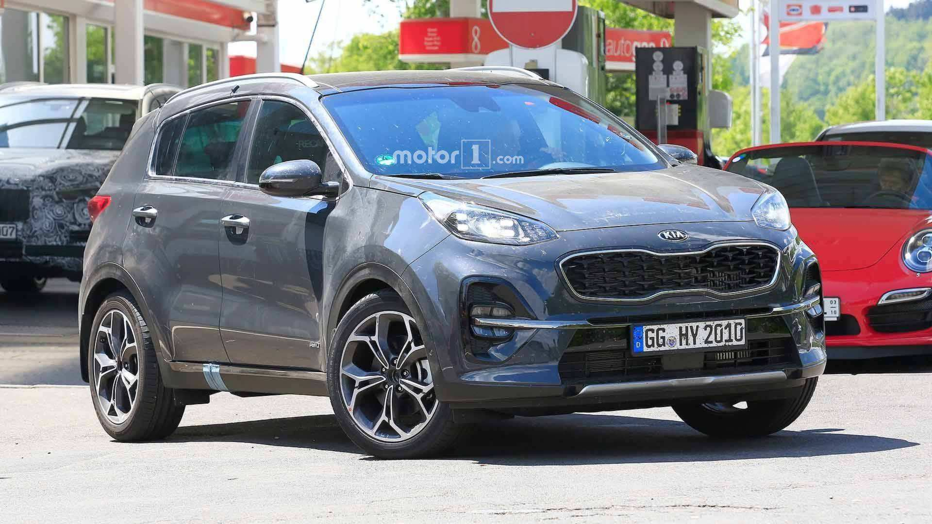 20 The 2019 KIA SportageSpy Shots History