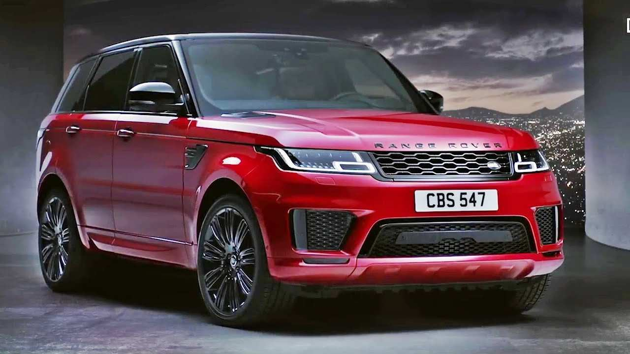 20 The 2019 Range Rover Sport Photos