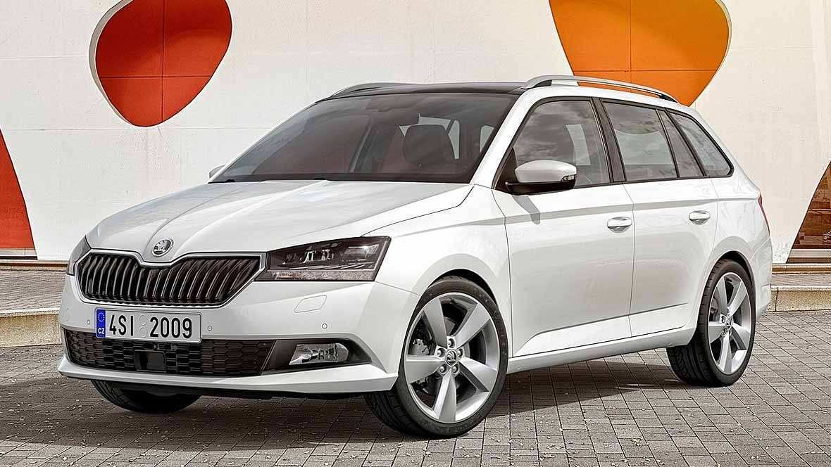20 The 2019 Skoda Fabia Photos