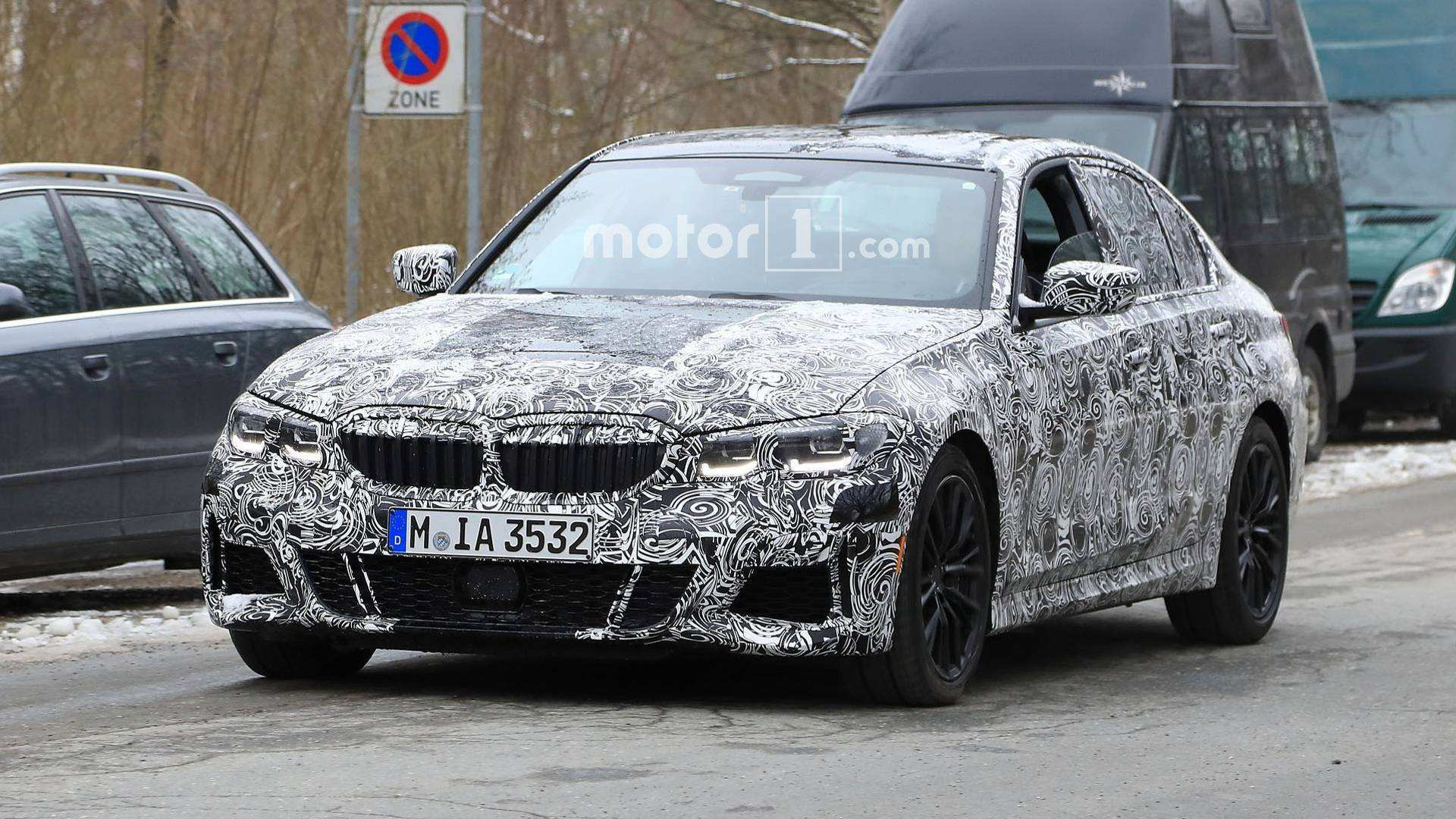 20 The 2019 Spy Shots BMW 3 Series Picture