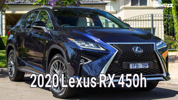 20 The 2020 Lexus RX 450h Wallpaper