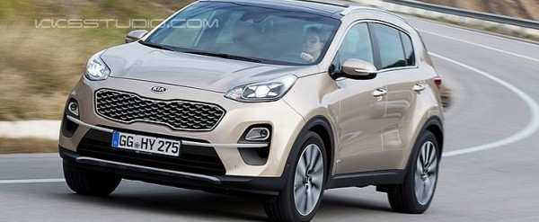 20 The Best 2019 KIA SportageSpy Shots Model