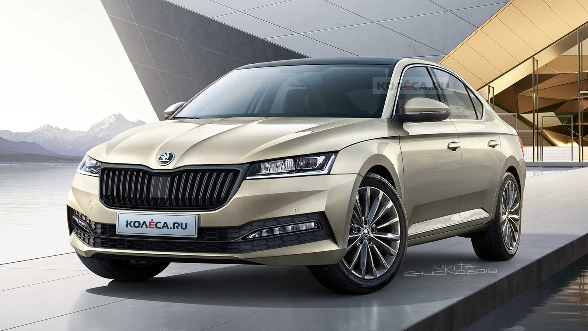 20 The Best 2020 The Spy Shots Skoda Superb Review And Release Date