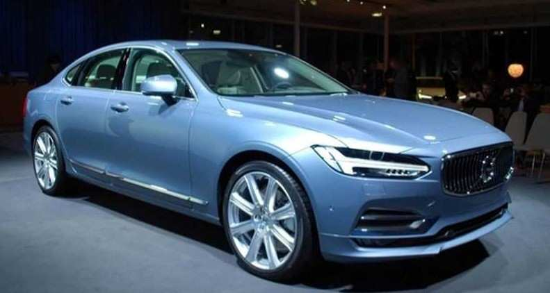 20 The Volvo S90 2020 Facelift Exterior And Interior