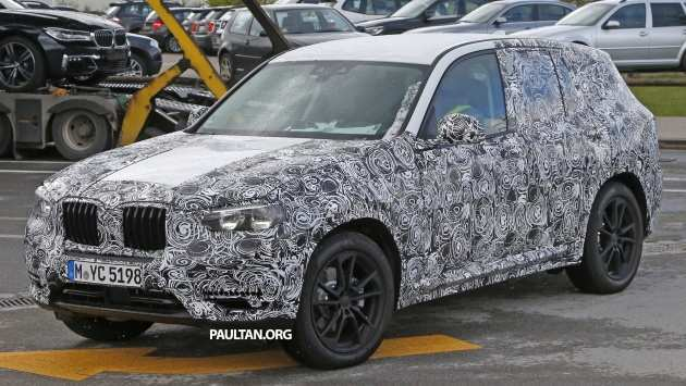 21 A 2020 BMW X3 Exterior And Interior