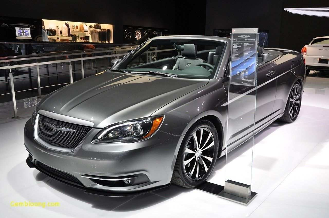 21 A 2020 Chrysler 200 Convertible Research New