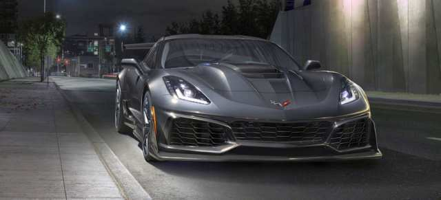21 All New 2019 Corvette Z07 Redesign And Concept