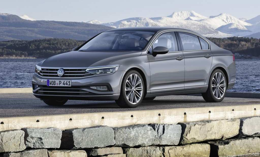 21 All New 2019 Volkswagen Passat First Drive