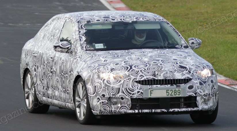 21 Best Spy Shots Skoda Superb Exterior