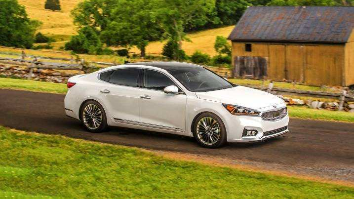 21 New 2019 All Kia Cadenza Spy Shoot