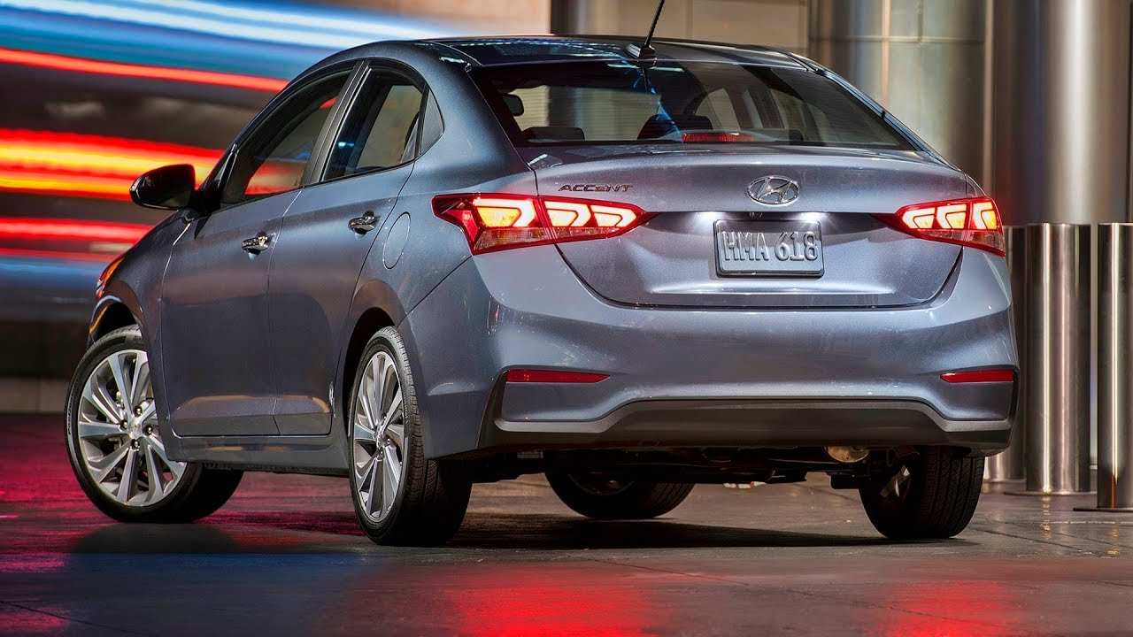 21 New 2019 Hyundai Accent Price Design And Review
