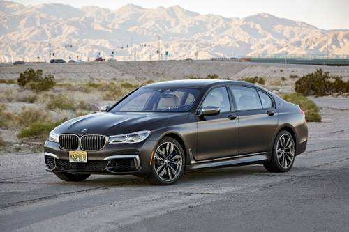 21 The 2019 BMW 7 Series Speed Test