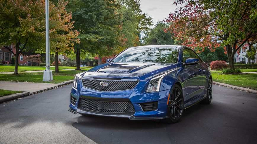21 The 2019 Cadillac Ats V Coupe Engine