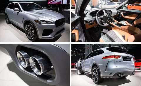 21 The 2019 Jaguar F Pace Svr New Concept