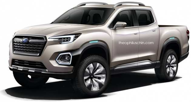 21 The 2019 Subaru Viziv Pickup Exterior And Interior