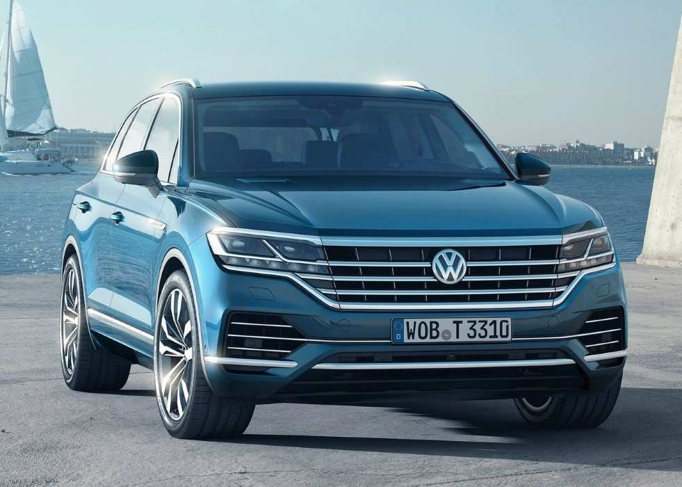 21 The 2020 VW Touareg Images