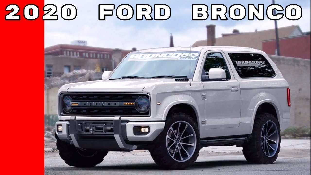 21 The Best 2020 Ford Bronco Review And Release Date