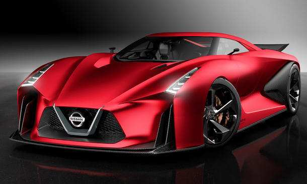 22 A Nissan Gtr 2020 Concept Spy Shoot