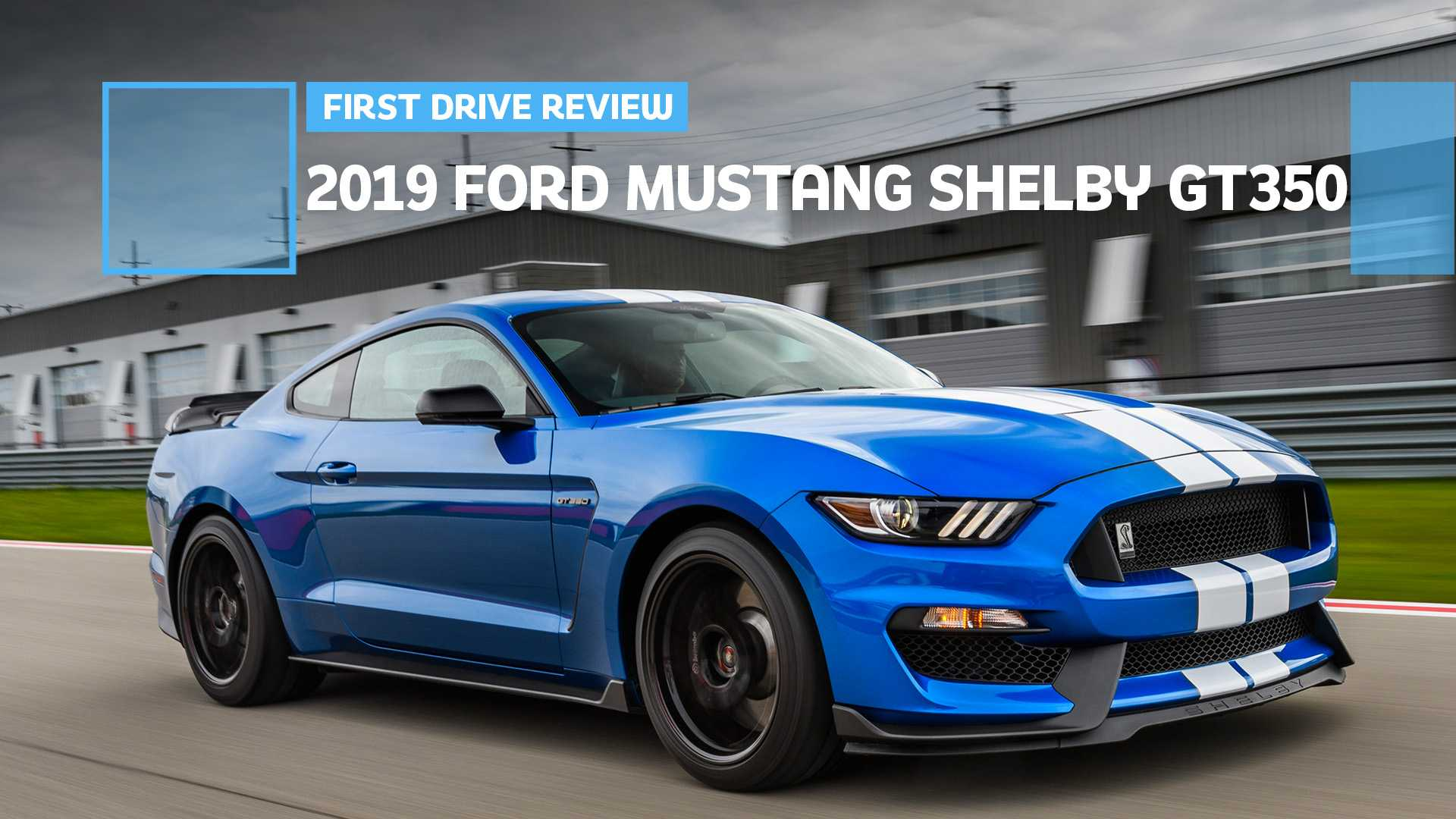 22 All New 2019 Ford Mustang Shelby Gt 350 Concept