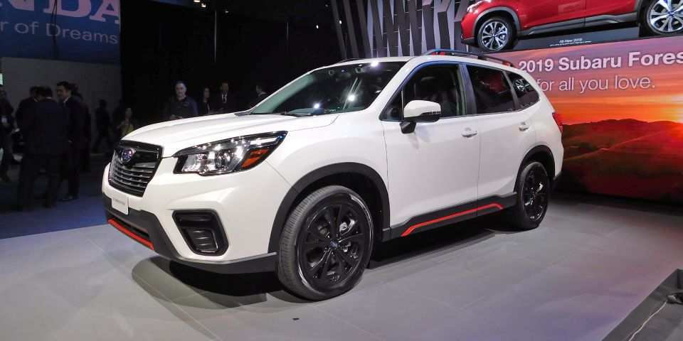22 All New 2019 Subaru Forester Release Date And Concept