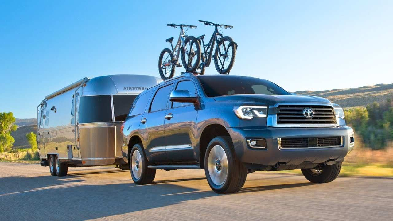 22 All New 2019 Toyota Sequoia Spy Photos Release Date