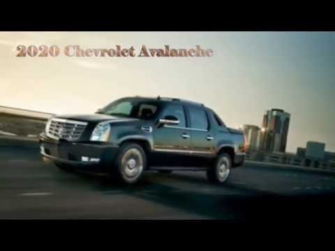 22 All New 2020 Chevy Avalanche Ratings