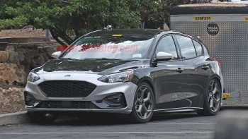 22 All New 2020 Ford Focus Rs St Spy Shoot