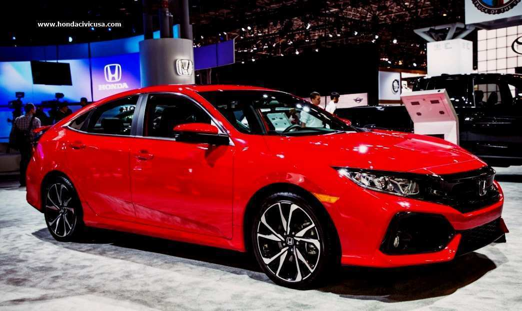 22 All New 2020 Honda Civic Si Sedan Redesign And Concept