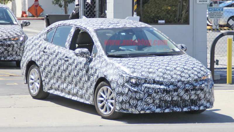 22 All New 2020 New Toyota Avensis Spy Shots Rumors