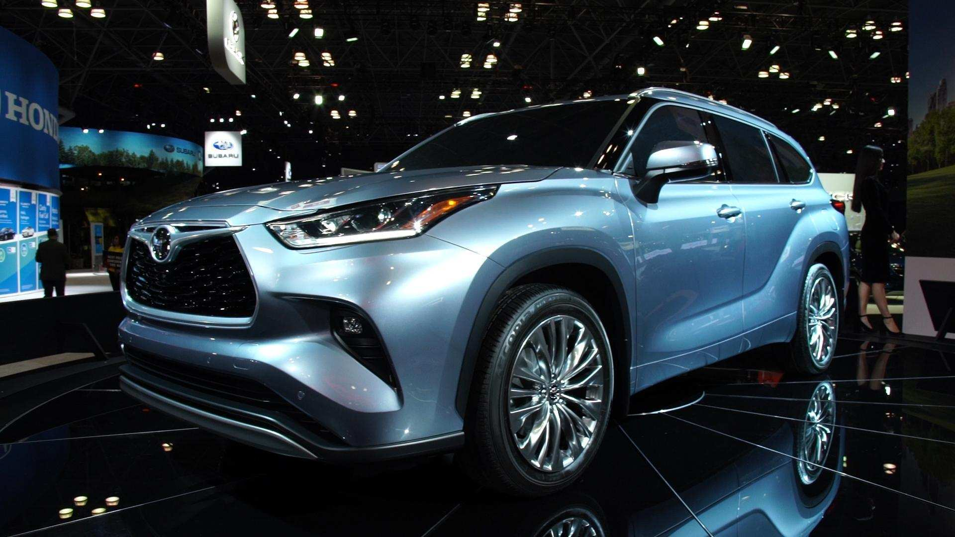 22 All New 2020 Toyota Highlander Pictures