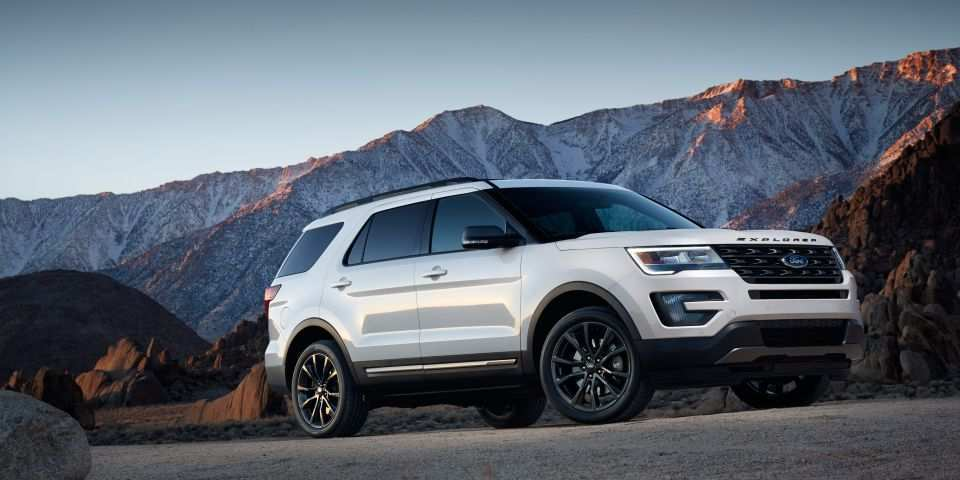 22 All New Ford Explorer 2020 Redesign And Concept