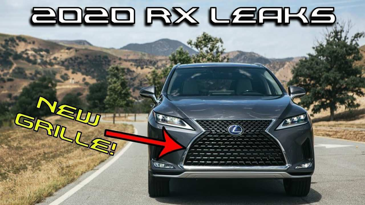 22 Best 2020 Lexus RX 350 Concept And Review