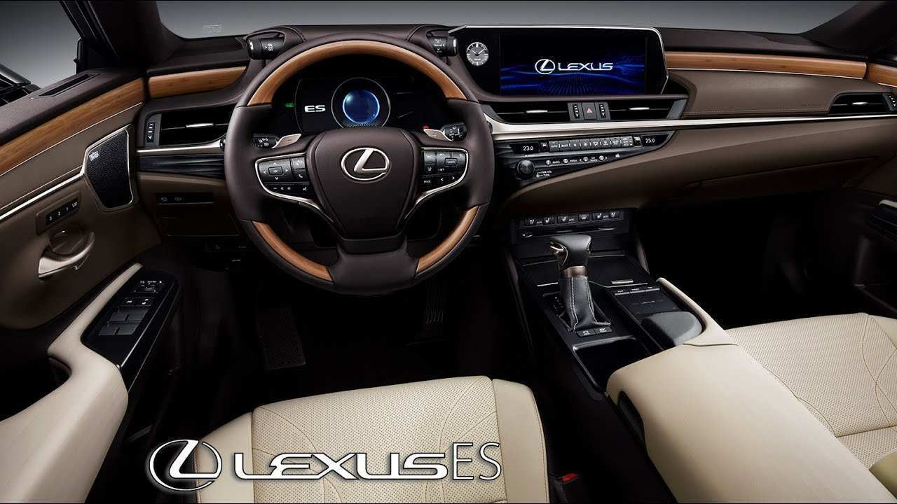 22 New 2019 Lexus ES Spy Shoot