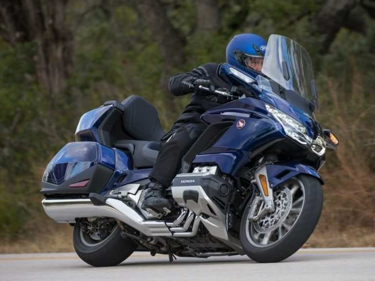 22 New 2020 Honda Gold Wing Spy Shoot